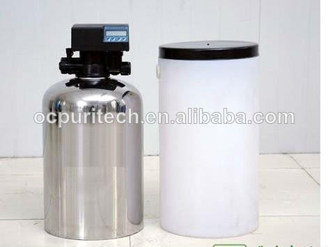 water softener for water pretreatment