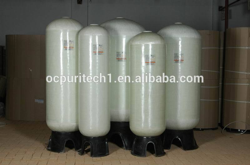 SUS or FRP tank small automatic and manual Water softener for water pretreatment system