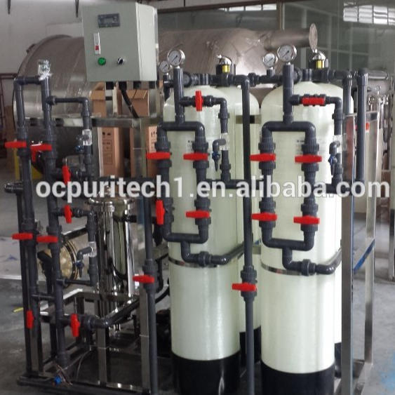 Manual washing machine water softener