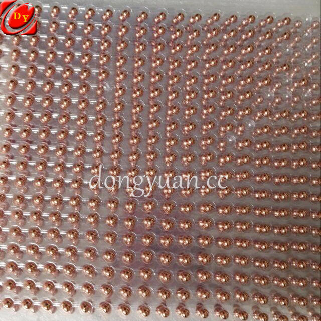 99.99% Cu Purity 12mm Copper Balls with Drilled Holes