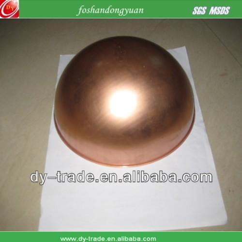 Celebration bronze spheres