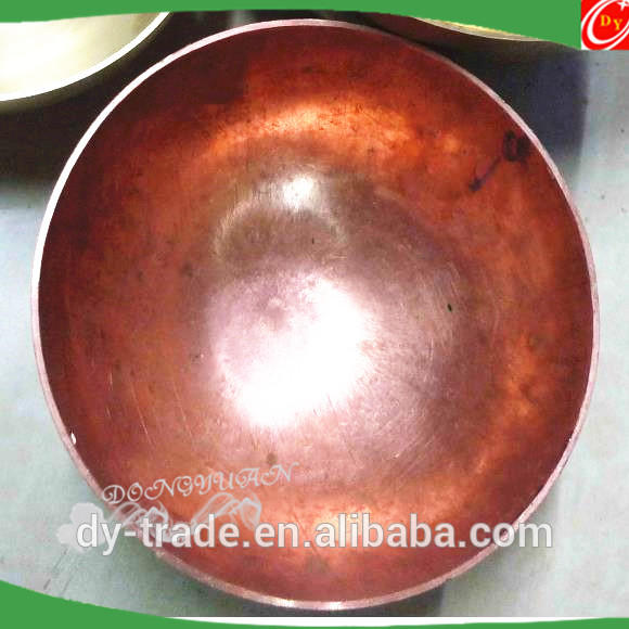 Gazing Copper Half Sphere for Lampshade