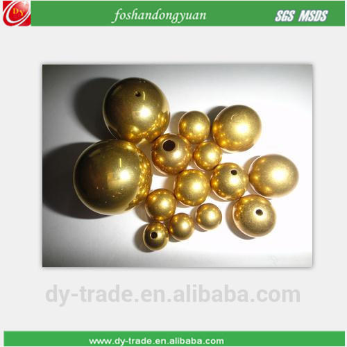 6mm 8mm 10mm 12mm 14mm copper/brass hollow ball beads for Chain/jewelry