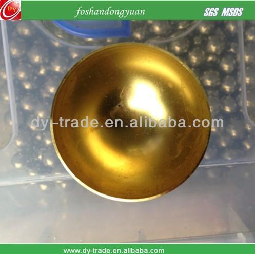 Half copper sphere H65