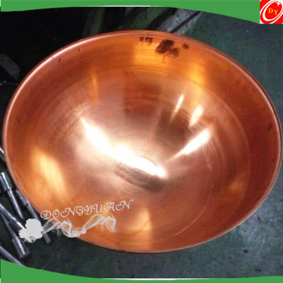 conductive copper half sphere 300mm,copper hemisphere