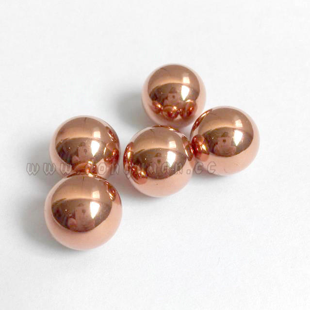 14mm Copper Hollow Ball