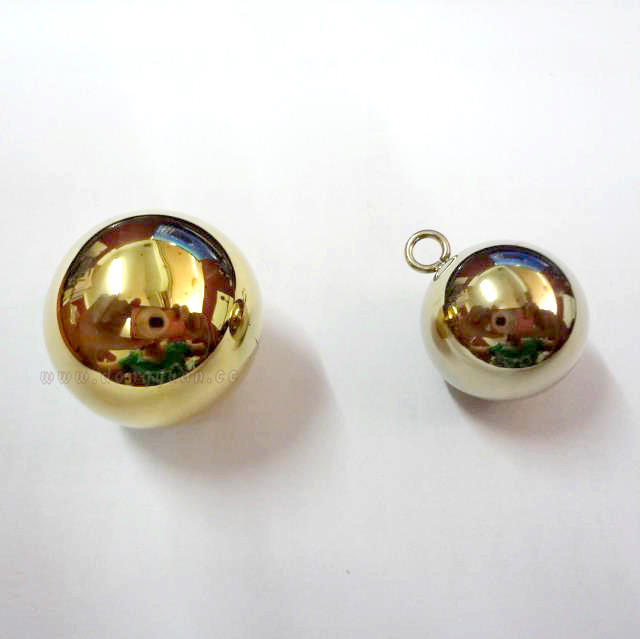 22mm Drilled Brass Ball for Jewelry Decoration