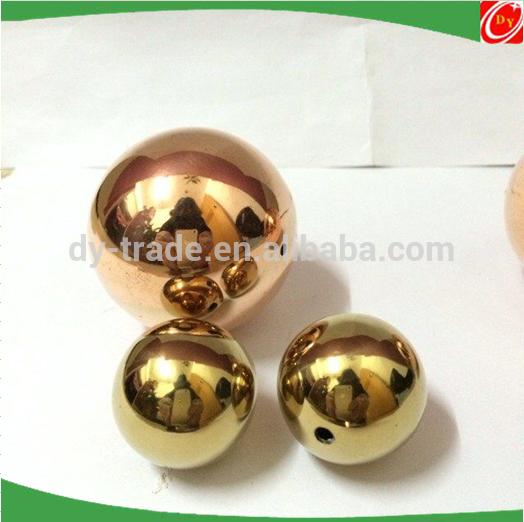 50MM Brass hollow ball/sphere , pure copper hollow ball