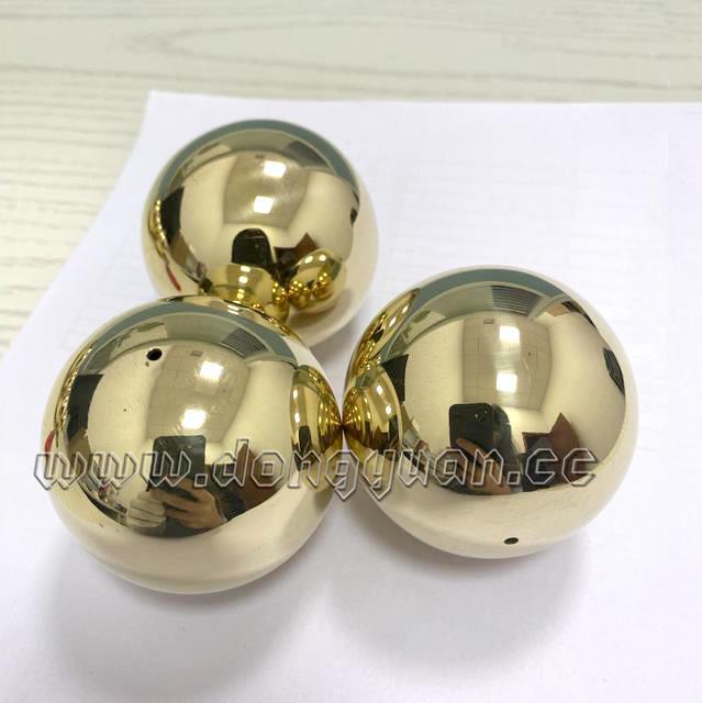 Small Brass Semi Sphere/Golden Color Half Ball