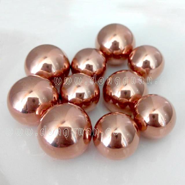 14mm Copper Hollow Ball