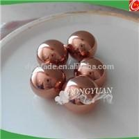 6mm-20mm mirror pure copper ball/sphere for jewelry findings