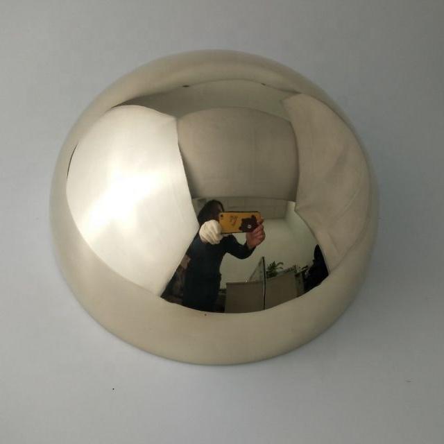 250mm Brass Hemisphere Half Ball Copper Half Sphere With Shiny Surface