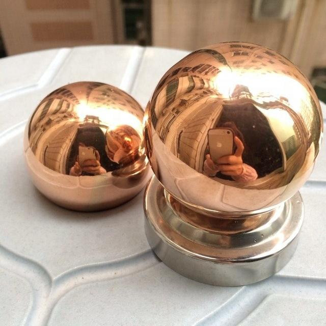 6/8/10/12/14/16/18/20/22mm polished brass hollow ball