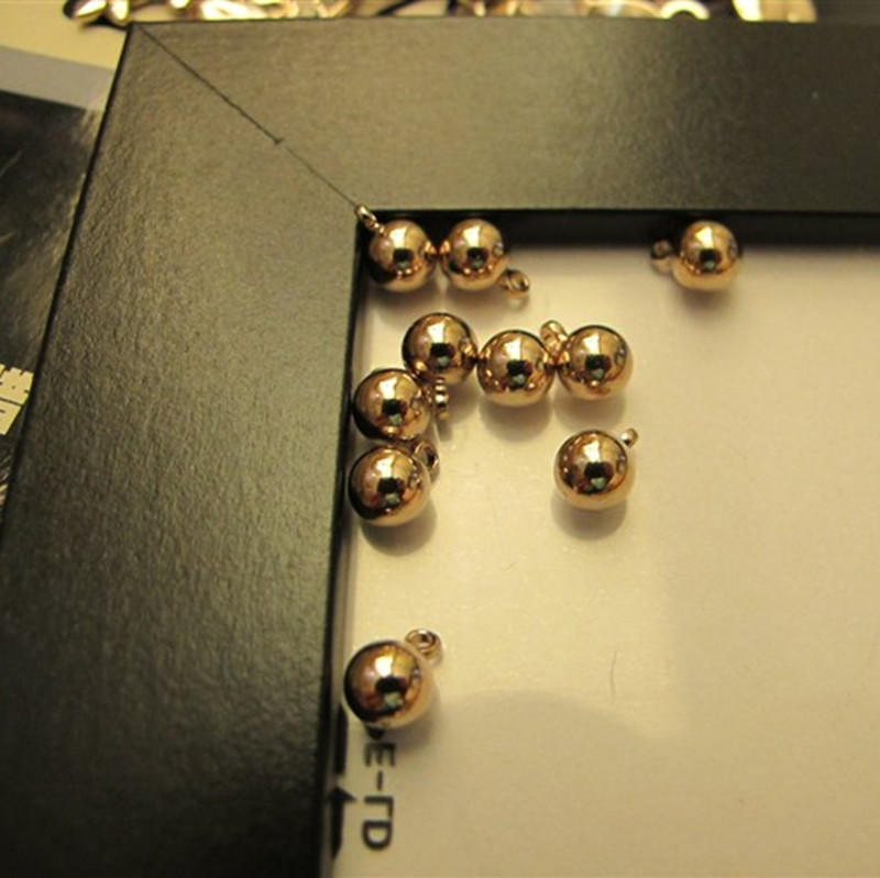 6/8/10/12/14/16/18/20/22mm polished brass beads/ brass hollow sphere/ copper hollow balls