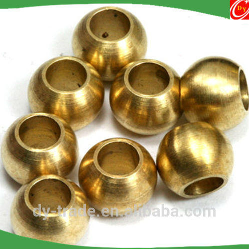 SGS Approved 10mm hollow mirror polished brass balls of China Supplier