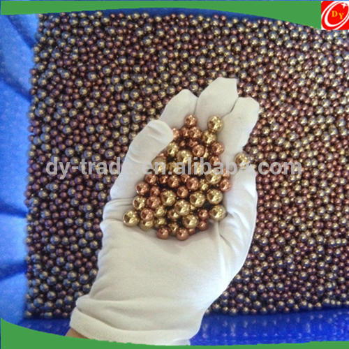 Small Large Hollow Soild Mirror Polished Red Copper Ball