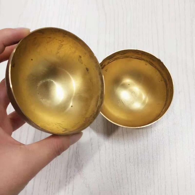 Brass hemisphere half ball copper half sphere