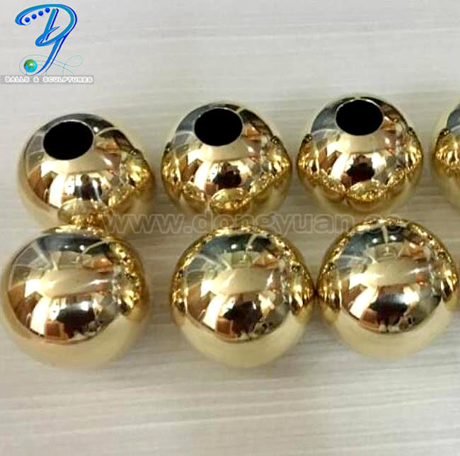 Hollow Brass Ball for Metal Building Material