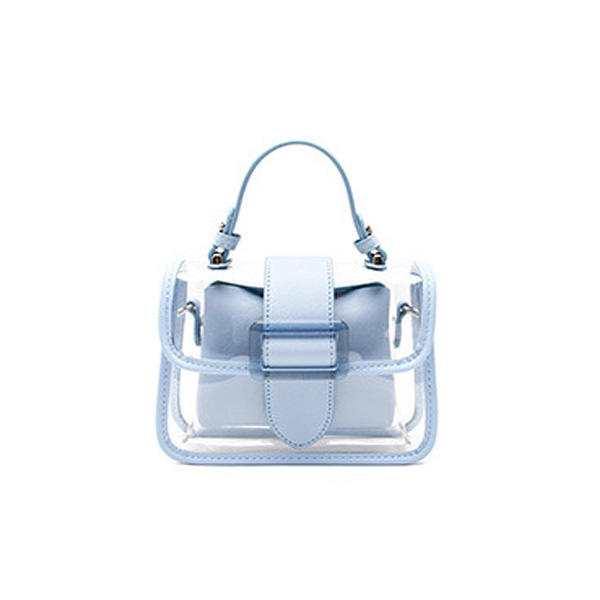2020 New Transparent Bag Clear Bag Jelly Bag Handbag Cross-body Bags For Women Ladies Purse High Quality Designer Chain Bags ins