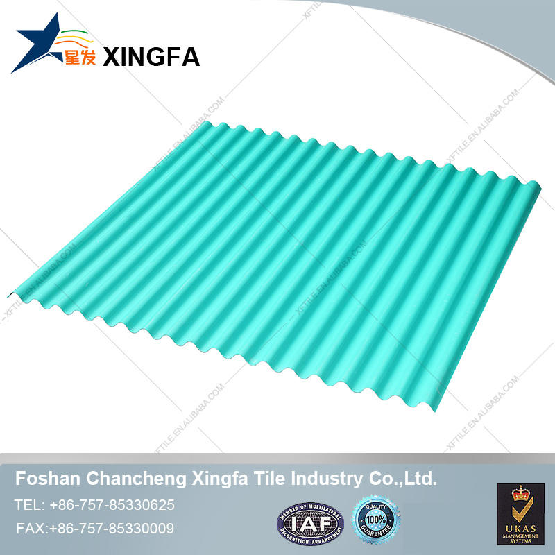 Customized type of transparent glass roofing sheets tile for warehouse