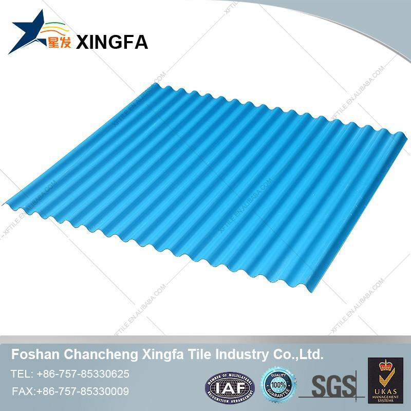 Price Of Tiles Prefab Houses Long Span Color Coated Corrugated UPVC Roofing Sheet In China