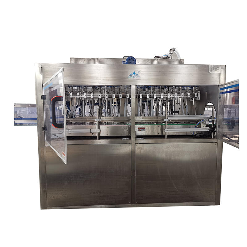 Automatic 100-2000BPH glass bottle filler jar filling and capping machine