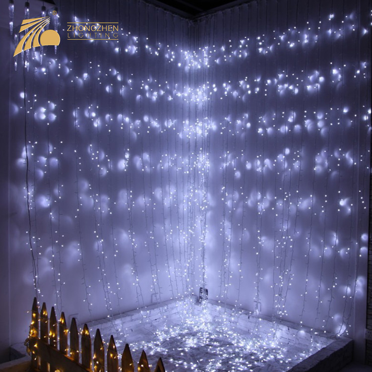 Energy Saving Connectable Style IP44 Waterproof Holiday Wedding Party Decoration LED Waterfall Lamp