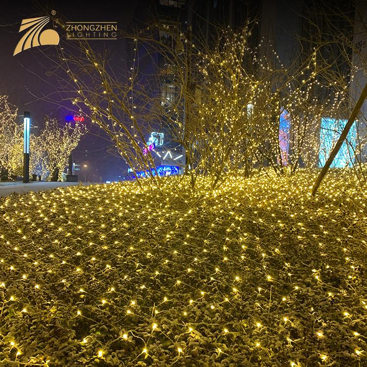 Low Power Consumption Outdoor IP44 Waterproof Decoration Chritsmas Light LED Net