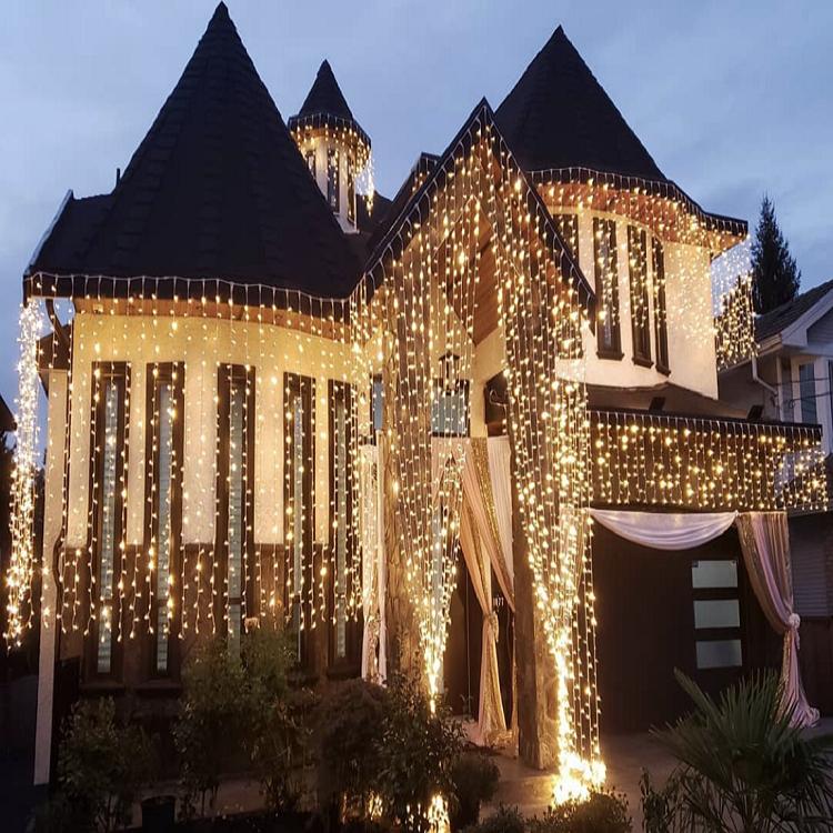 Professional Custom Christmas Wedding Home Party Decorative LED Icicle Light