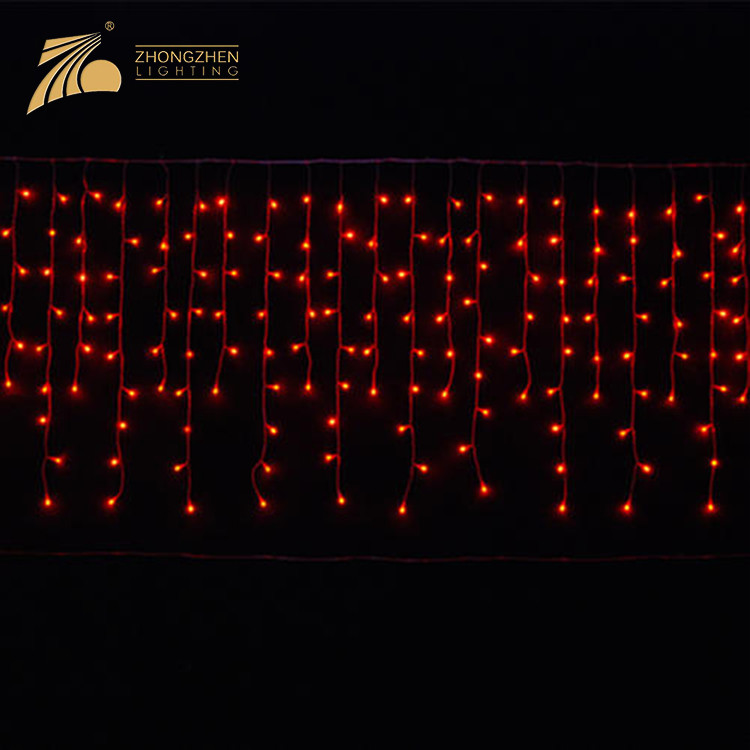 Environmental Protection Safety IP65 Waterproof Custom Made Size Decoration Curtain Fairy Light