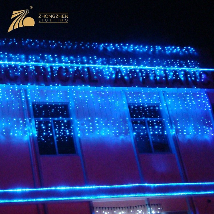 High Quality Decoration Christmas Connectable Waterfall LED Lighting String