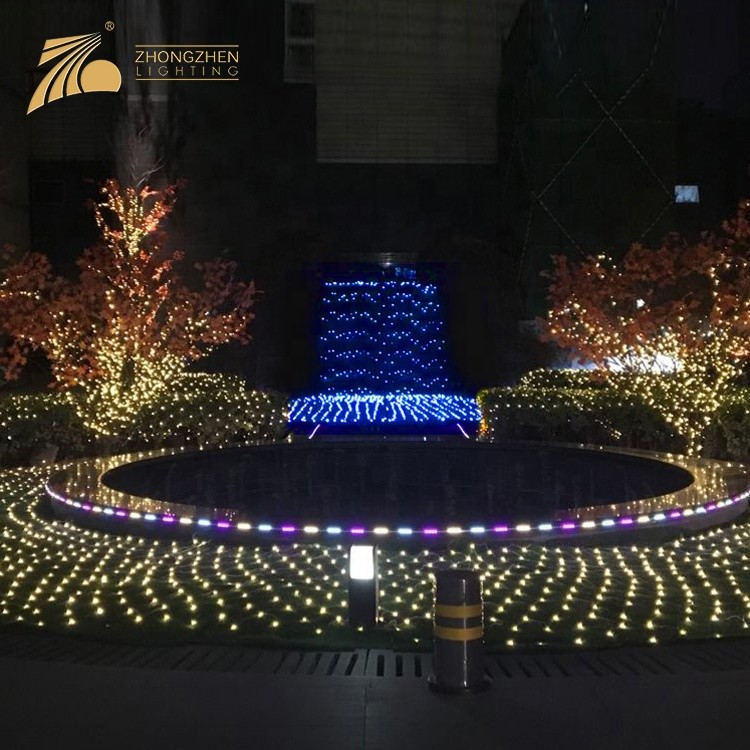 Professional Decorative Christmas Wedding Party Connectable LED Curtain Light