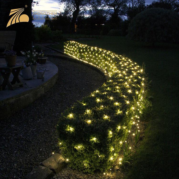 Adorable Lighting Color Outdoor IP44 Waterproof Garden Decoration LED Light Net