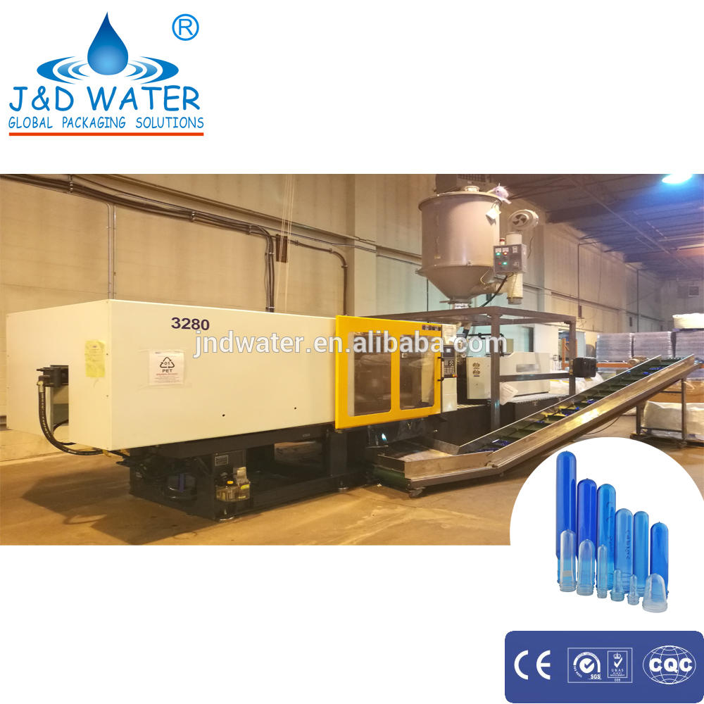 China best sale pump motor power 37KW automatic injection molding machine