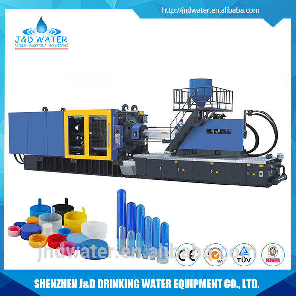 Energy Saving Capacity 50KG Automatic Plastic Cap Injection Molding Machine