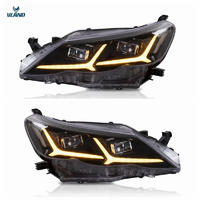 Vland factory accessories for car Reiz full LED headlight 2010-2013 for Mark X head lamp with DRL+welcome light with blue