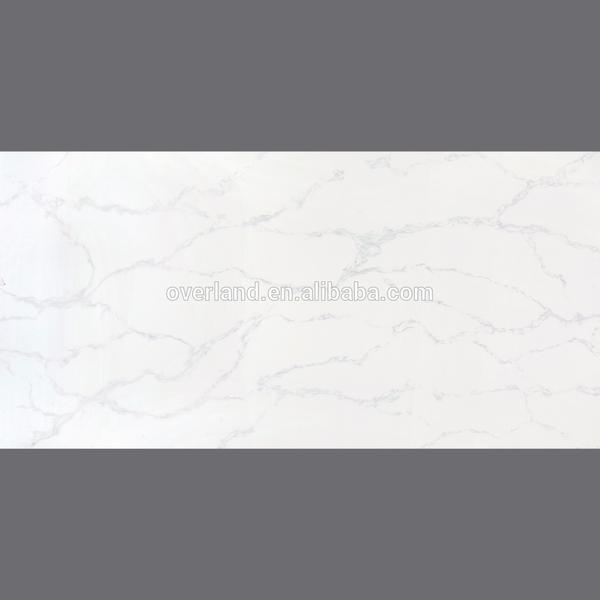 White quartz table top