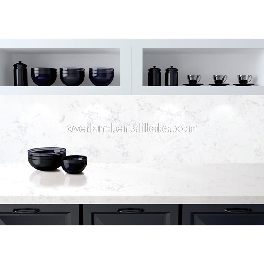 Artificial stone cuarzo kitchen countertops