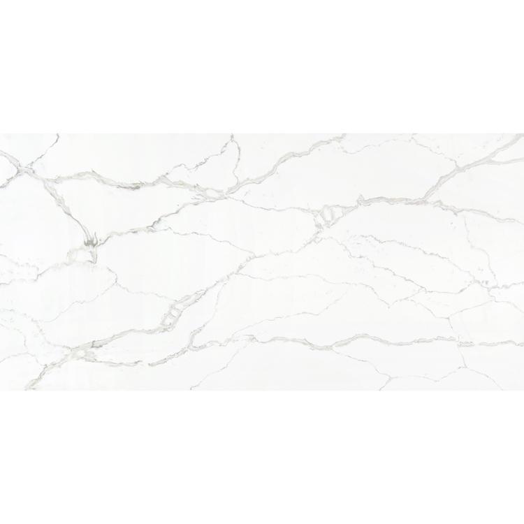 White mirror fleck quartz stone countertop