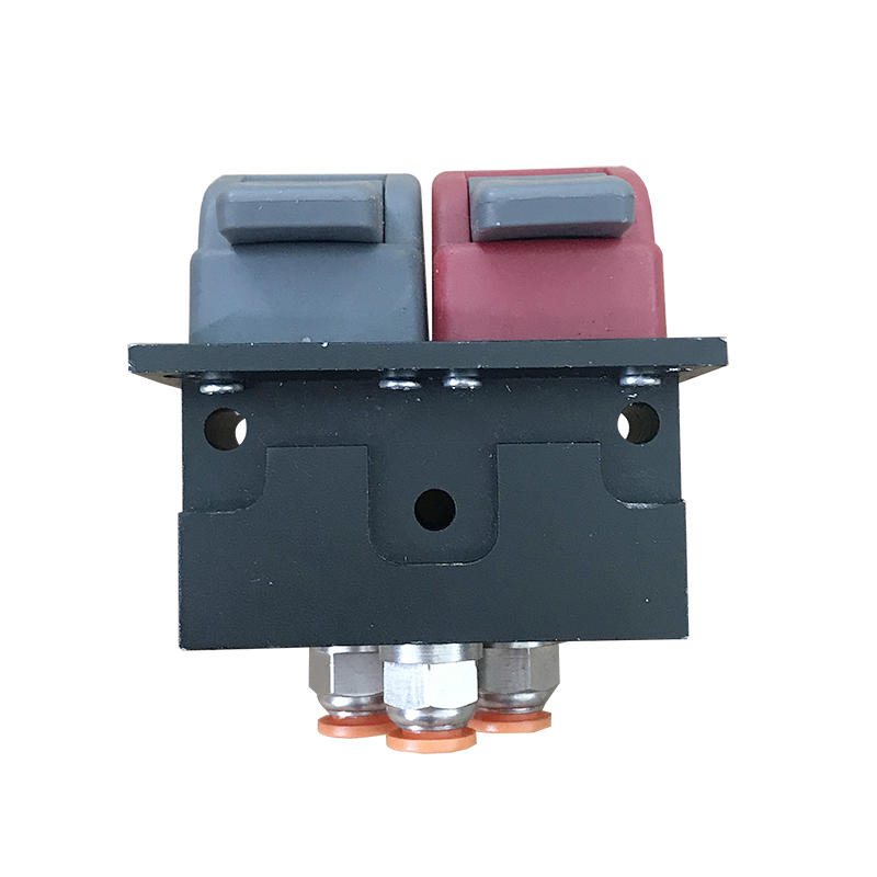 Double Key Manual Valve AF-3CV Black Plastic Dump Truck Valve