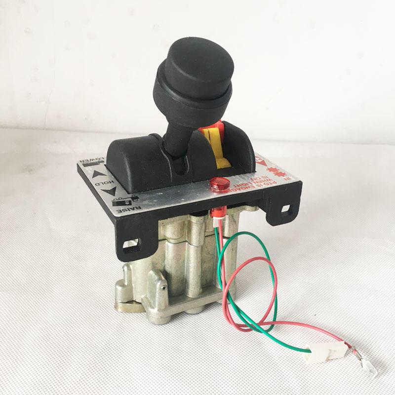 Dump truck hydraulic parts system 6 hole hand valve tipper control valve