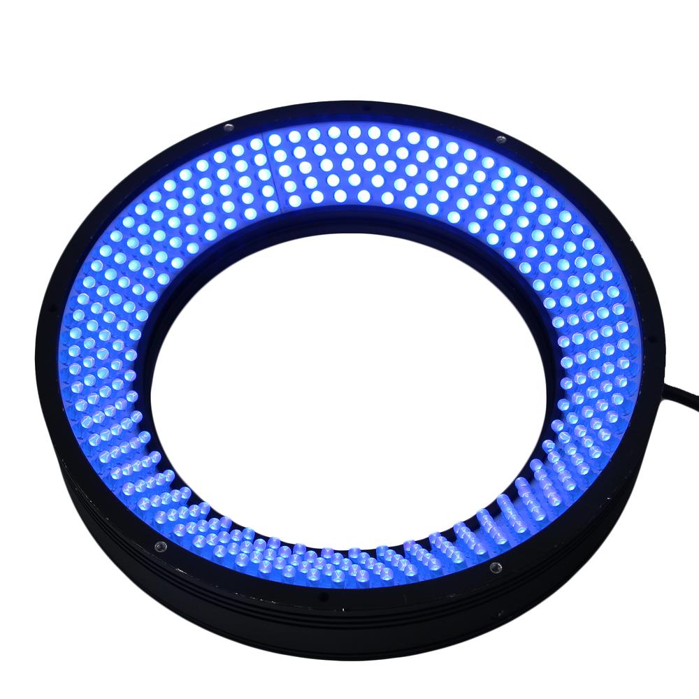 High power array 365nm uv led design solutions international 18w ring light