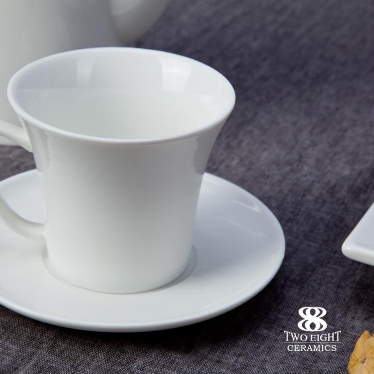 Eco Friendly Productos Innovadores Restaurant Coffeetea Set, Coffee Tea Sets Bone China Porcelain
