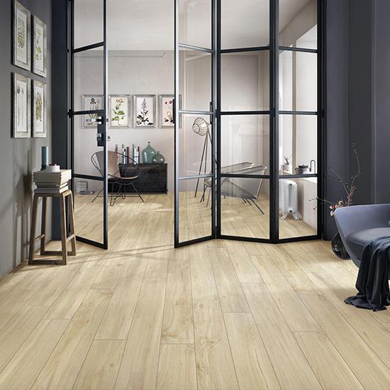 Timber Ceramic Wood Matte Living Room Tile Turkey Grey Rustic Porcelain Floor WoodenTiles