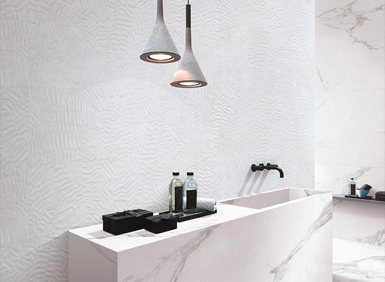 Fold 3D Picture Floor Ceramic Wall Tile Price Glazed Porcelain Matte bathroom designs Tiles