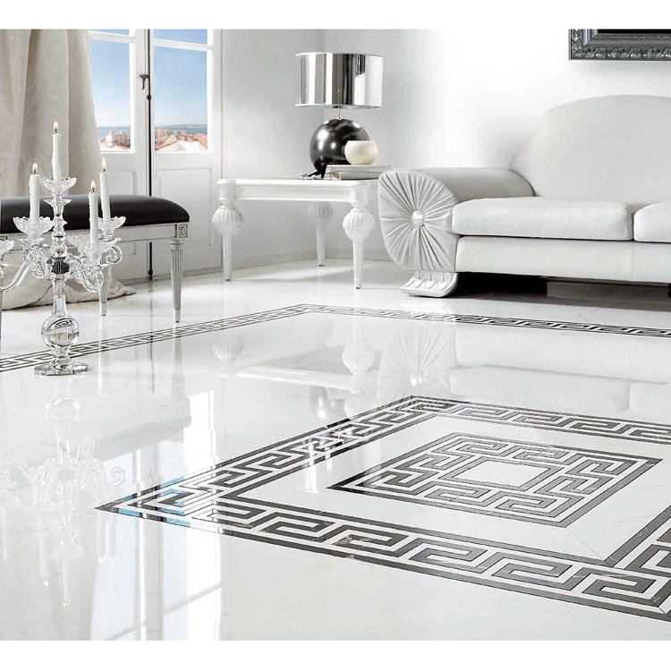 White porcelain porcelanato floor vitrified ceramic tiles 600*1200