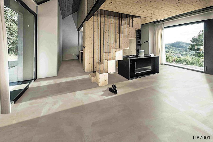 Legend Subway Ceramics Tiles Building Materials For House Finishing Glazed 60x60 LimeStone Look Porcelain Floor Tile