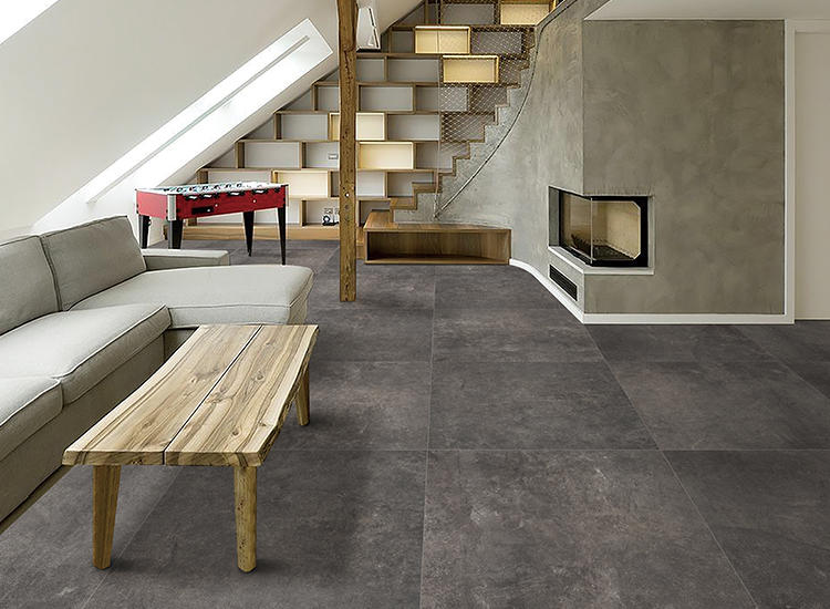 History Glazed Cement Rustic Ceramic Matte Floor and Walls Parking Tiles Living Room Interior Home Concrete Large porcelain Tile