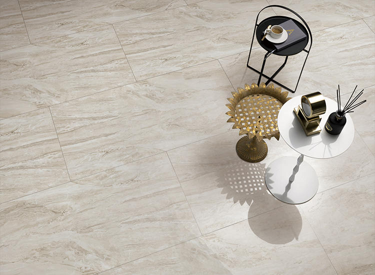 Venice Grey Marble Porcelain Floor Tiles Glazed Polished Matte Printed Canvas Lanka Ceramic Price Custom Logo Bathroom Tiles