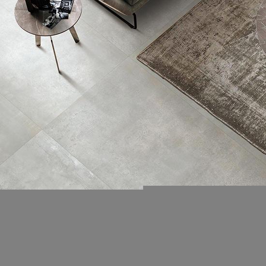 Light Year Cement Concert Dark Grey Glazed Metal Porcelain Matte Ceramic interior Walls and Floor Metallic Tiles